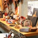 カジュアルベルトを中心に、財布や犬の首輪と革小物のオーダーにも対応。