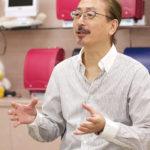 自らの名前を冠したバッグブランドを立ち上げた若松秀夫専務。