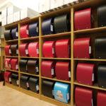 有限会社中村鞄製作所ショールーム。