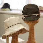 取引先の問屋や小売店からはよく、「なんだかやさしい感じ、やわらかい感じがする」と評される同社の帽子。